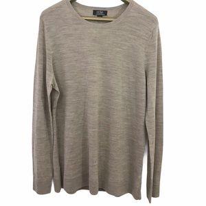 Lord & Taylor Merino Wool Knit Long Sleeve Sweater